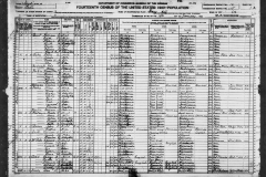 Earl T Forbes 1920 US Census