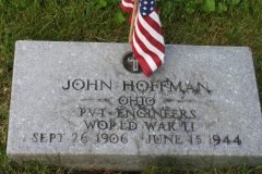 Headstone John Hoffman