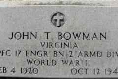 Headstone Bowman