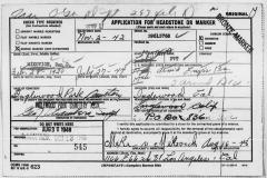 Mikovich Pvt Dan Donald Grave Stone Card 2