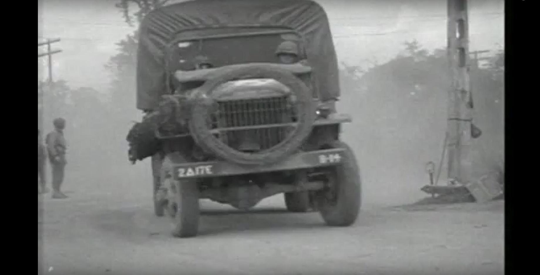 17th AEB truck Saint Jean de Daye Manche