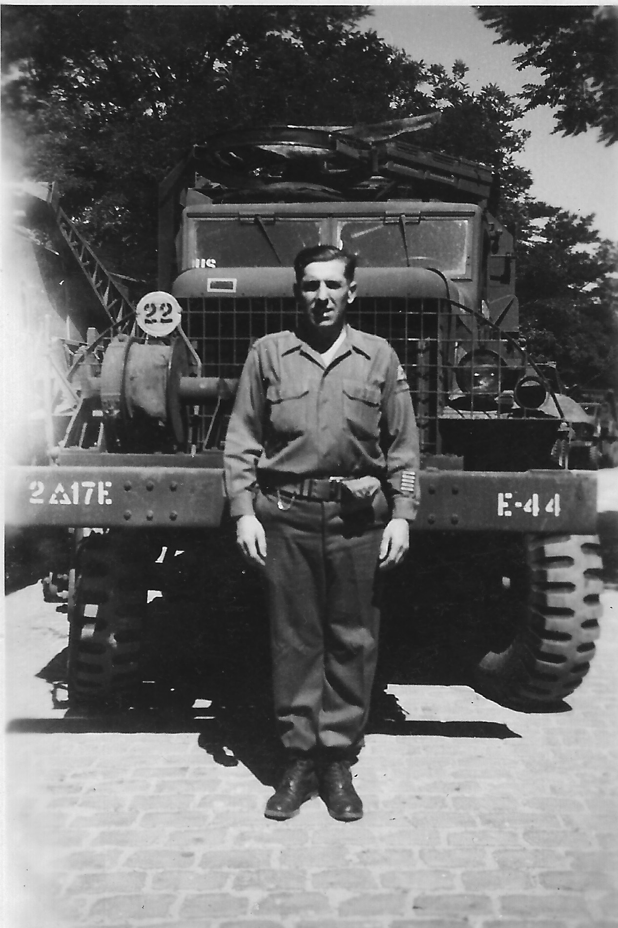 17th Engineer Technician Fith Grade Michael Joseph Mazie Company E date unknown