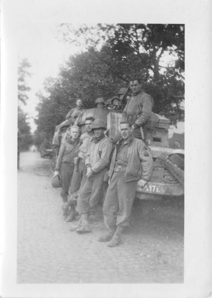 17th Engineers, zomer 1944