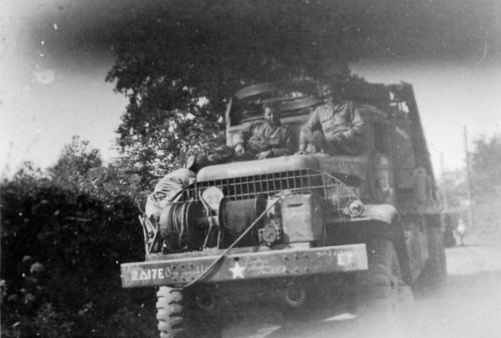 17th Truck Titus Brandsmastraat Schinveld Nederland, 1944