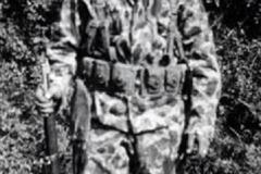 17th Engineer Kenneth C. Hanna, DCompany in Camouflage uniform