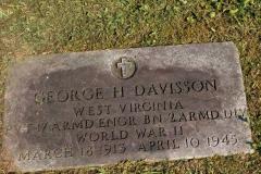 Gravestone George H Davisson