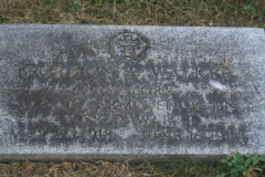 Gravestone Sgt Gordon F Walker