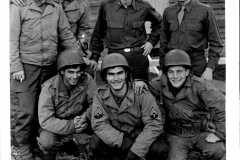 J. Fumagalli, England, 2 september 1944, After a hard day work and still smiling (1)