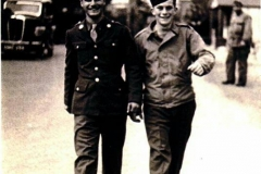 Joseph Fumagalli With Buddy Hanlon, England