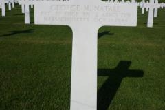 Gravestone Private George M Natale
