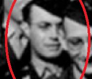 2nd LT Jannuzi at Tidworth Barracks Engeland, june, may 1944 S. Benninger