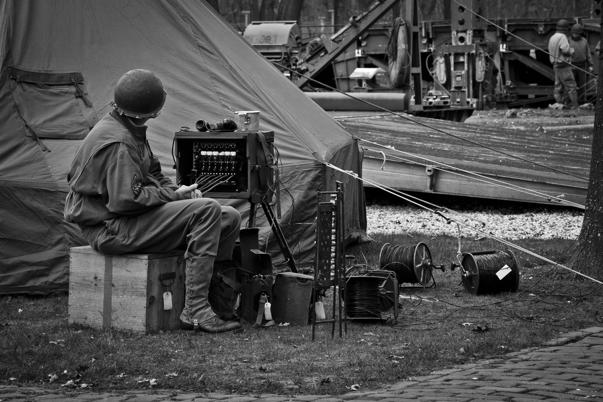 Re-enactment 17th Engineers Battalion MARS (26)