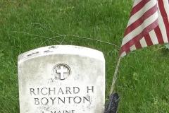 Grave Boynton 1921 - 1943