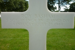 Roy Basham Headstone