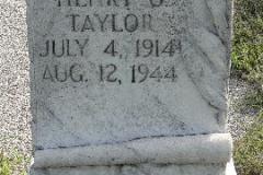 Grave Sotn Taylor Henry G CPL
