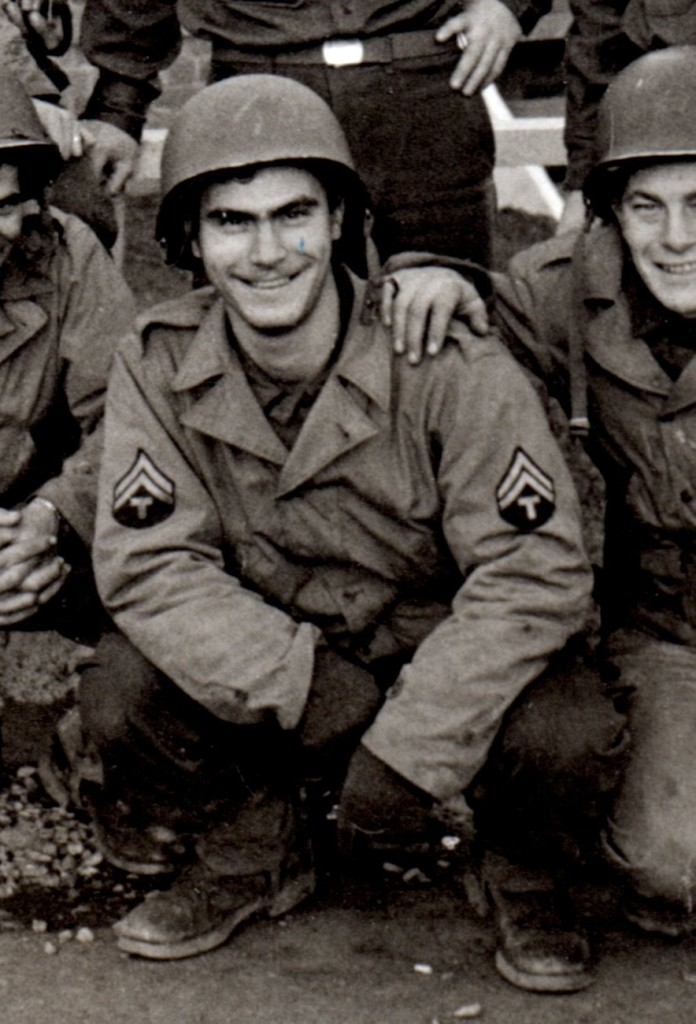 J. Fumagalli, England, 2 september 1944, After a hard day work and still smiling