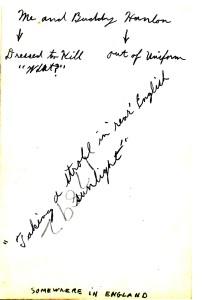Joseph Fumagalli With Buddy Hanlon, England achterzijde