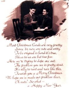 Christmas Card with Jospeh Fumagalli