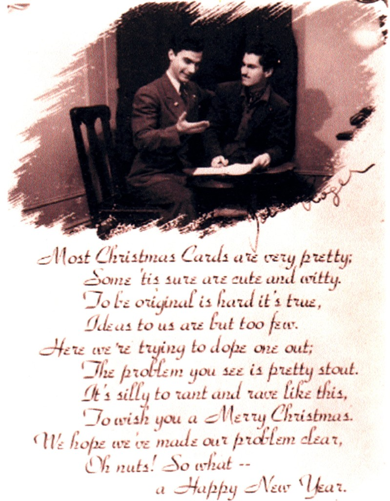 Christmas Card with Jospeh Fumagalli