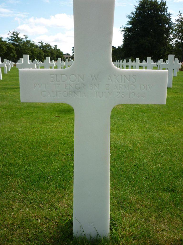 Cross Private Eldon W. Akins