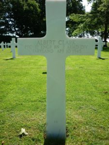 Cross Albert Clark 1919 - 1945