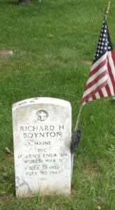 Gravestone Richard Boynton