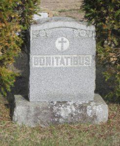 Gravestone Francis J Bonitatibus