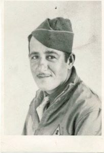Corporal Ralph Sirico in North Africa