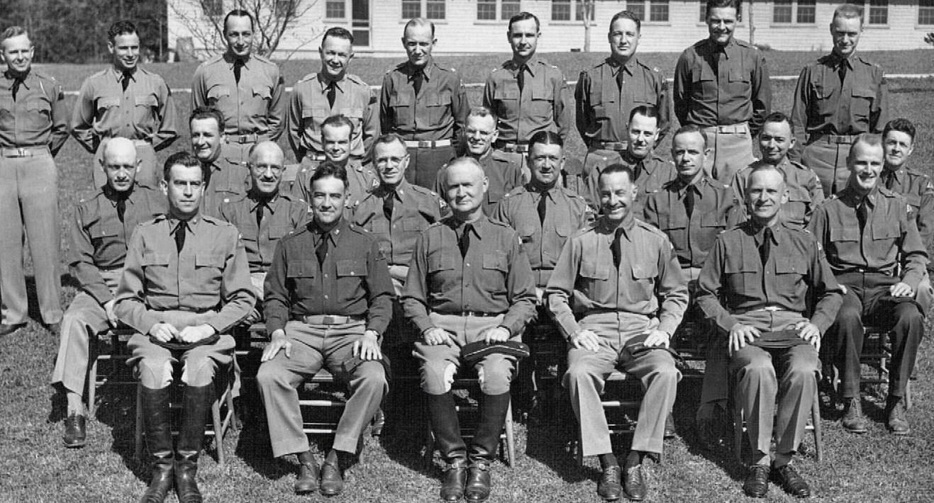Peckham Engineer Officer augus 1940 at Fort Benning