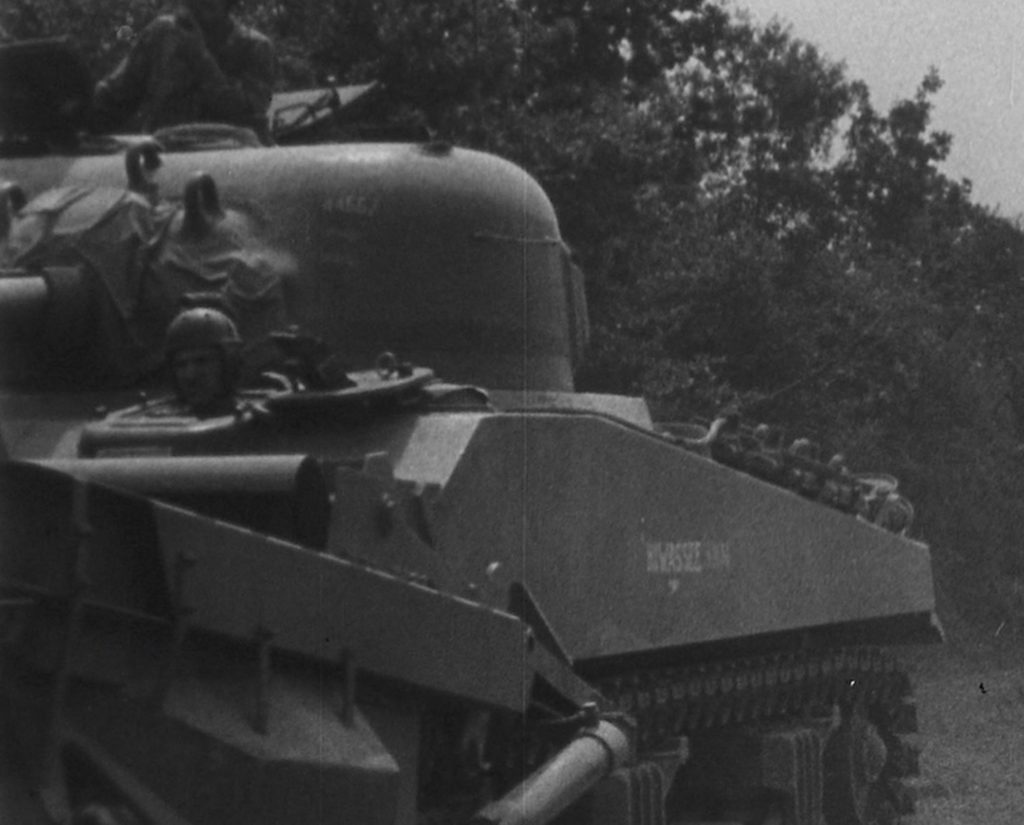 Tankdozer -Hiwassee - 44557 on the turret makes it HQ 17th Engineers (Source: -Copyright Simon Lewis)