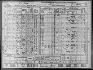 US Senus 1940 Frank T Russo, Georgia