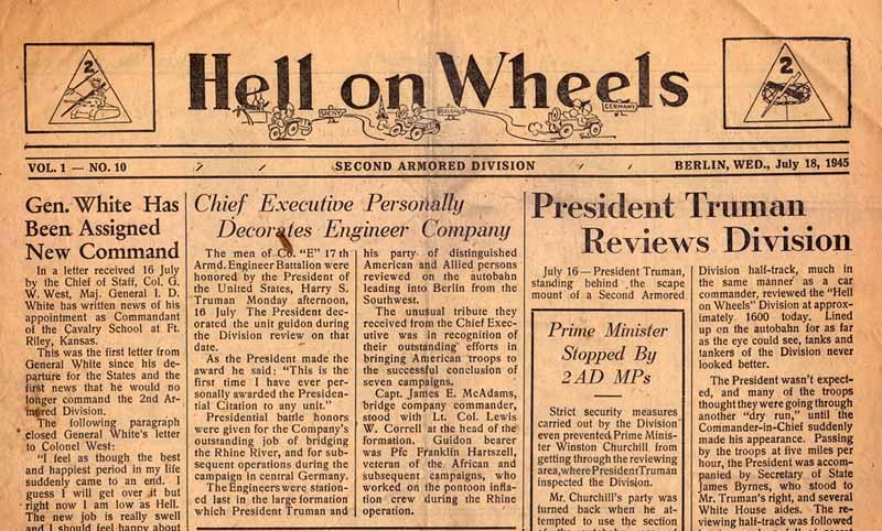 Hell on Wheels July 18 1945