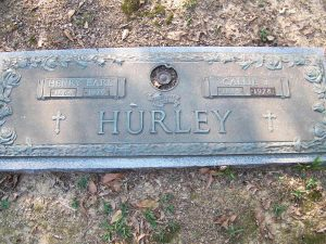 Grave Henry and Callie Hurley