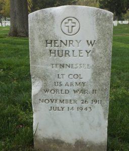 Headstone Henry Hurley
