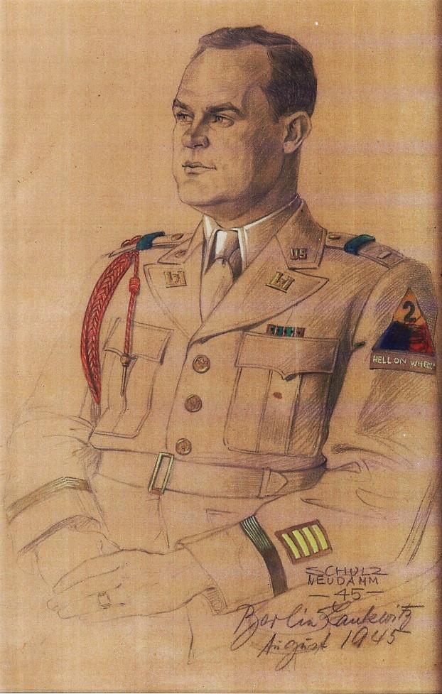 First LT Orville Pete Cowart Berlin Aug 1945