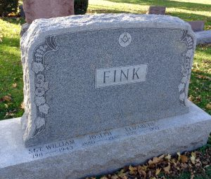 Gravestone Sgt William Fink