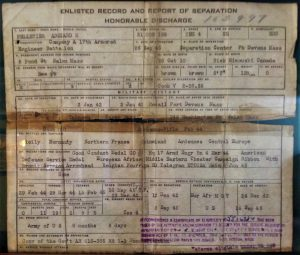 Honorable Discharge Document A Pelletier