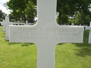 Joseph F Masterson