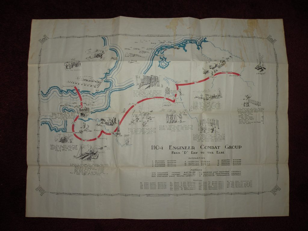 Division and Army maps from TSGT Gordon J Ketchpaw