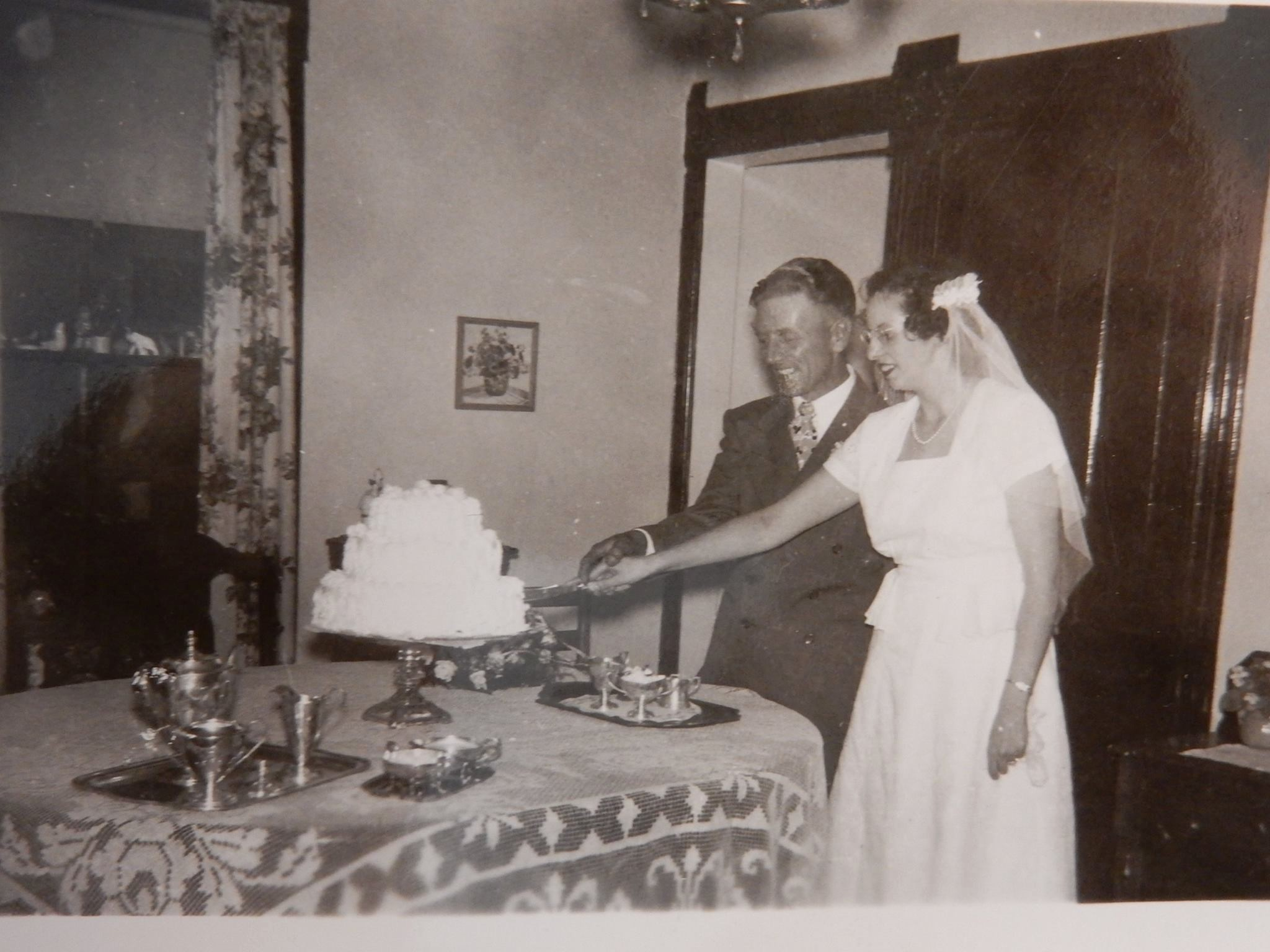 Father Ketchpaw and mother 1946 marriage
