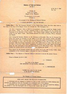 Gordon Ketchpaws copy of Belgian Fourragere Citation