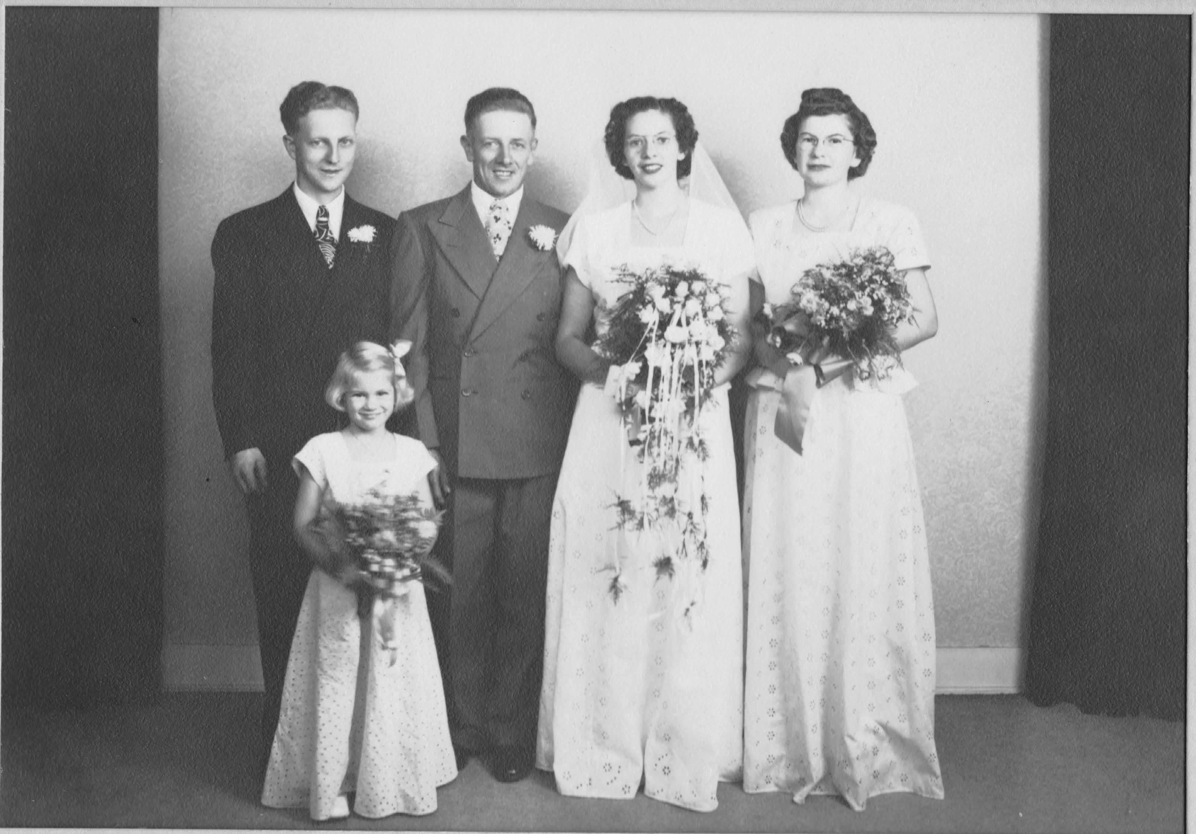 Gordon & Jean Ketchpaw wedding