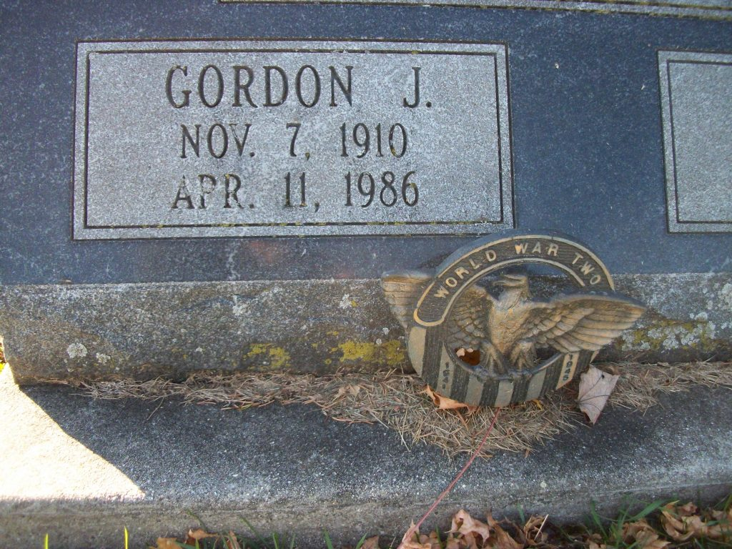 Grave Gordon James Ketchpaw