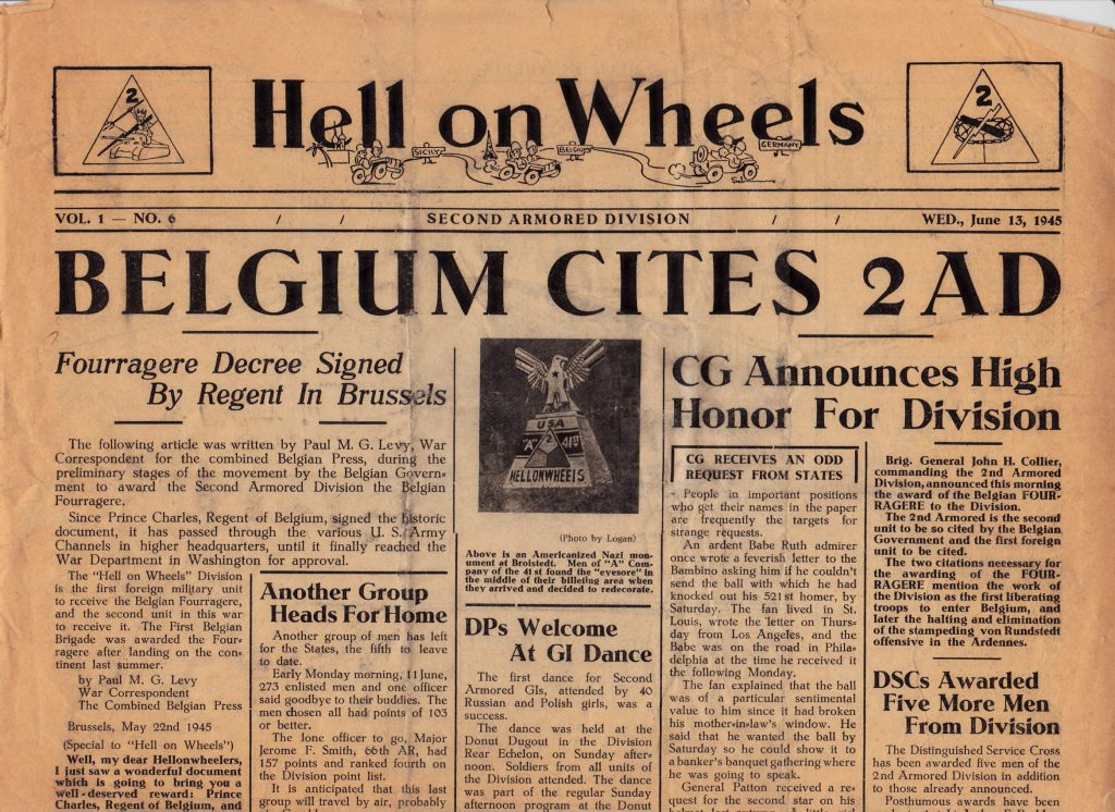 Hell on Wheels June 13 1945