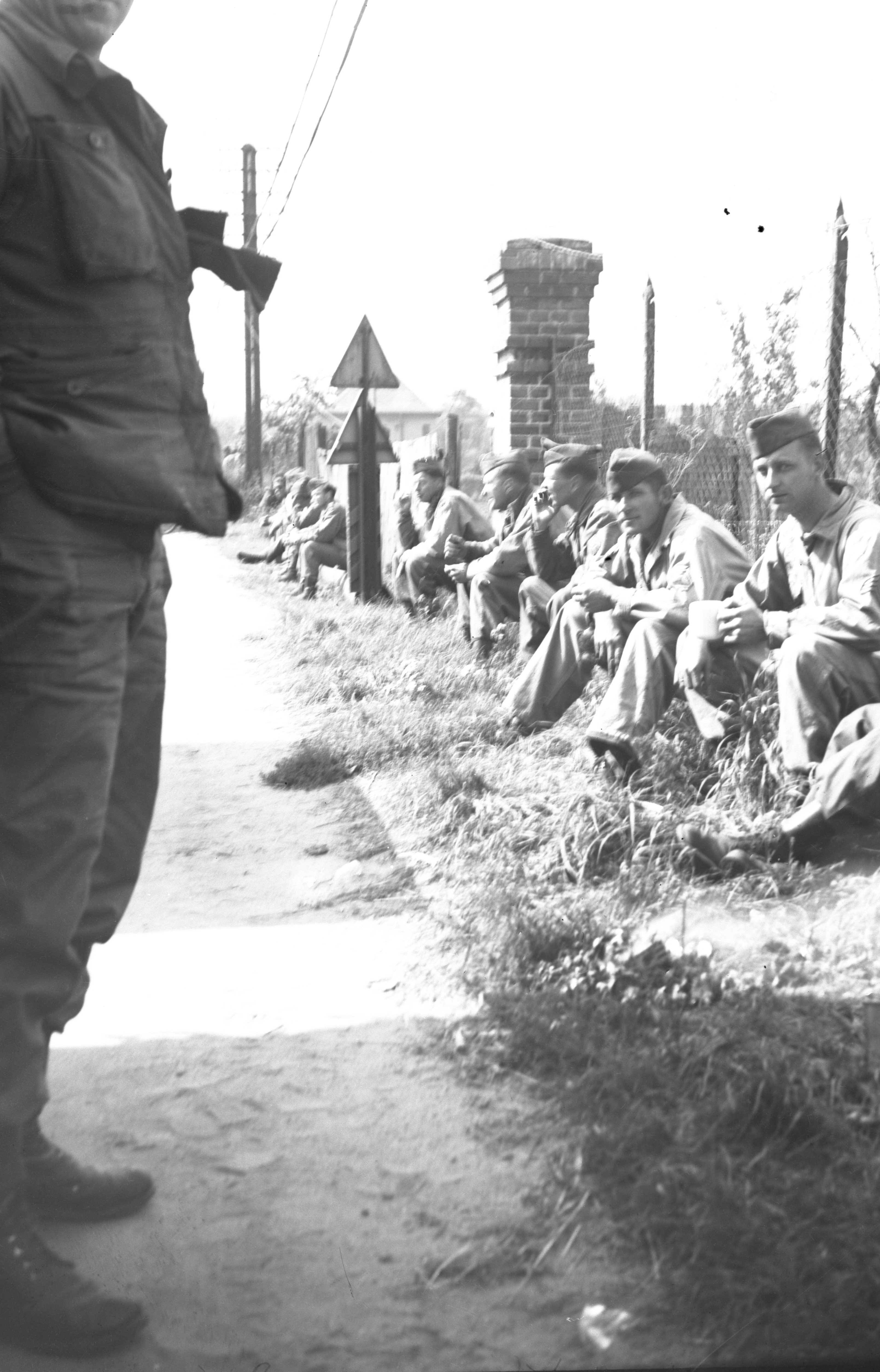 hotos taken by TSGT Gordon Ketchpaw, Germany 1945. Courtesy Dave Ketchpaw