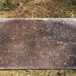 Gravestone Walker Gordon