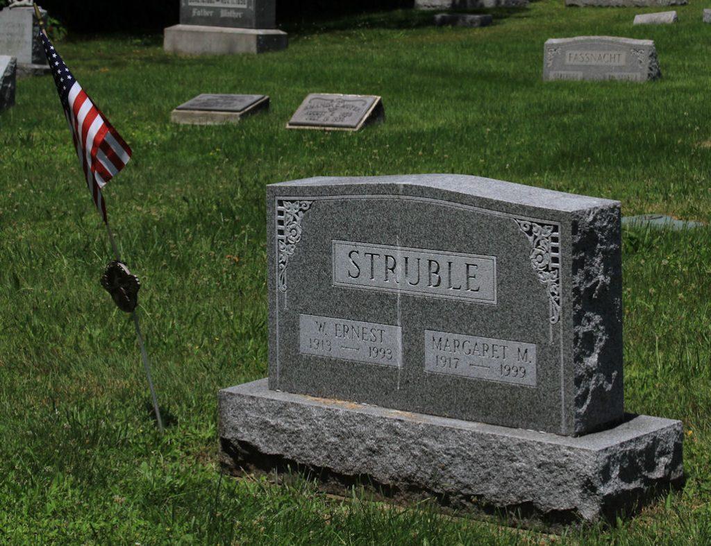 Grave Stone Ernsest W. Struble
