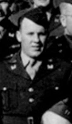 McMahan at Tidworth Barracks Engeland, june, may 1944 S. Benninger