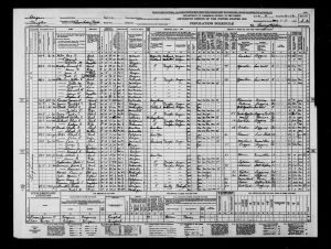 Randolph Clifford Jennie 1940 US Census