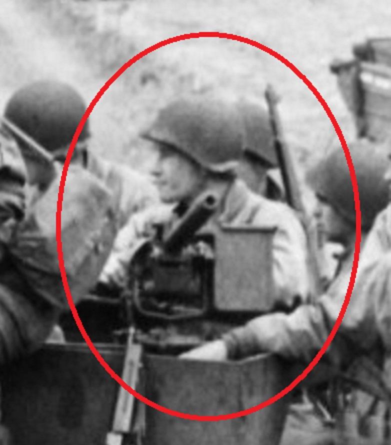 Sergeant Adam F Kauchis 17th Engineers halftrack 'Le Ruquet' Draw, Nornandie, Frankrijk Juni 1942